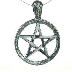 Pentagram Tybetański, oksydowany