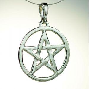 Pentagram ażurowy, nieoksydowany