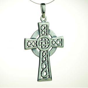 Krzyż celtycki zwykły, oksydowany